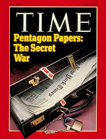 The Pentagon Papers were leaked to The New York Times by Daniel Ellsberg