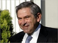 wolfowitz to resign this afternoon?