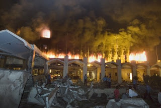 official story of pakistan truck bombing is a lie