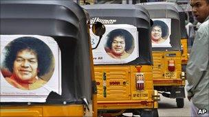 satya sai baba, indian guru, dies at 84