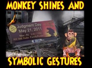 ground zero: monkey shines, symbolic gestures & more