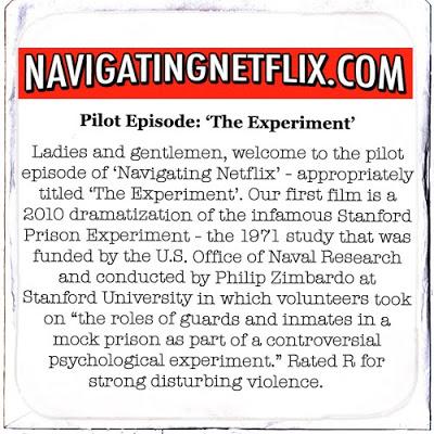 Pilot Episode: 'The Experiment'