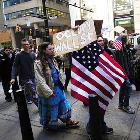 US police 'maced peaceful protesters' in new york