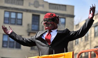 Detroit holds Parade to Rid City of Evil Spirit