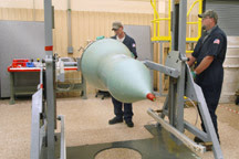 mishap in dismantling nuclear warhead