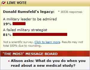 rumsfeld's legacy