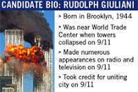 giuliani to run for president of 9/11
