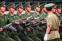 china threatens war escalation over bush handshake