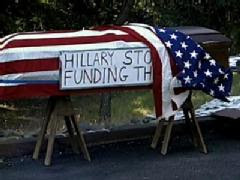 coffin delays clinton fundraiser