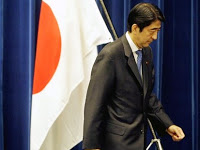 the talk of tokyo: japan's abe resigns