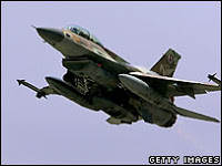 israel admits air strike on syria