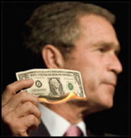 how bush destroyed the dollar