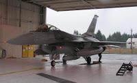 f-16 that scrambled on 9/11 put on display