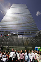 building at world trade center is a showcase of terrorproof technologies