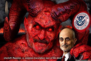chertoff worries about 'earth-shattering' events