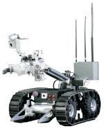 northrop-grumman robots patrolling the super bowl
