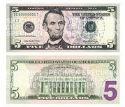new color $5 bills come out today
