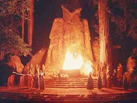 pat buchanan references moloch in op-ed