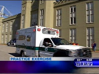 drill at vmi helps crews prepare for large emergency