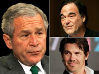 oliver stone rushes to finish off bush bio-pic