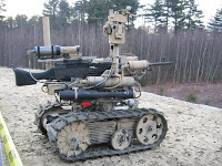 armed robots still in iraq