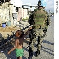 un peacekeepers & aid workers abusing kids