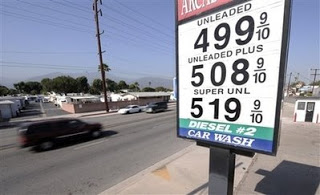 gas hits national average of $4 for first time