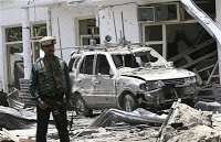 afghanistan accuses 'foreign intel agency' of bombing