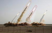 iran missile photo faked