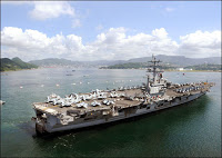 massive US naval armada heads for iran