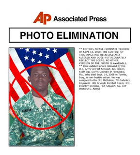 army alters photographs & issues them to ap