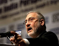 nobel-winning stiglitz: crisis as bad or worse as great depression