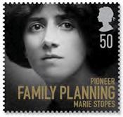 british govt chooses hitler-loving abortion movt pioneer for stamps