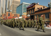 military may patrol bar zone in canadian city