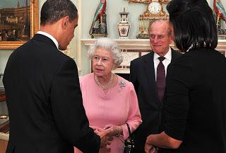1st black president grovels to virulently racist royal family