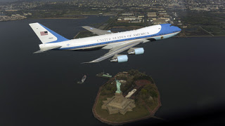 the official $328,835 snapshot of air farce one!