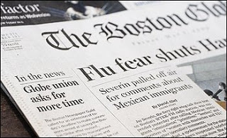 nytimes to file notice it will close boston globe