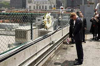 prince harry makes ground zero pilgrimage