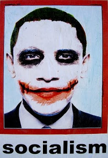 obama joker poster popping up in los angeles