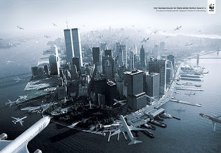 outrage after ad shows 9/11 attacks - with dozens of planes