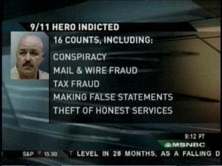 new york '9/11 hero police chief' bernard kerik jailed