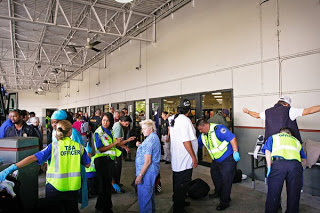 tsa spot-checks greyhound bus terminal