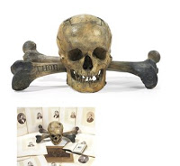 grisly skull & bones trophies to be auctioned
