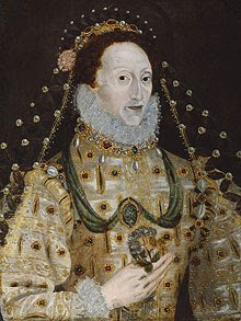 mysterious snake appears in painting of queen elizabeth i