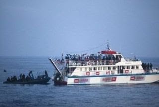 israel jails 480 gaza aid activists