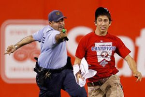 17Yr-Old Phillies Fan Tasered: Why Police Are Using Tasers More Often