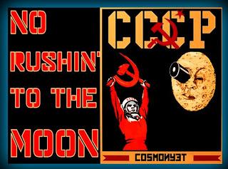 ground zero: no rushin' to the moon