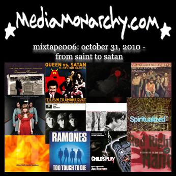 media monarchy mixtape006: from saint to satan