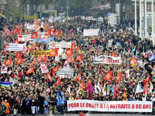 will americans follow french example of mass civil unrest?