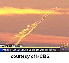 Missile Launch Off California Coast A Show of Force?